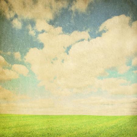 vintage spring summer background photo