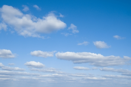 white clouds in blue sky Stock Photo - 13865927