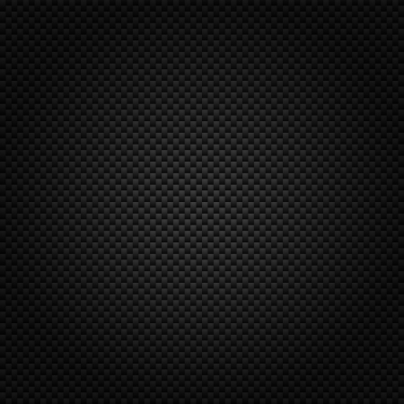 Texture of carbon fiber material  Dark background photo