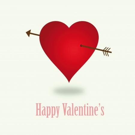 infatuated: Vector vintage valentine Illustration