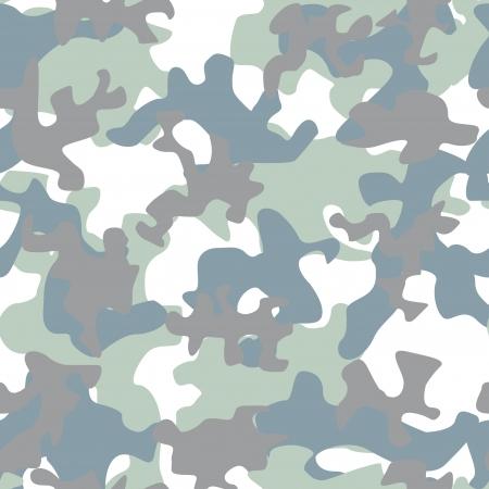 illustration of camouflage seamless pattern