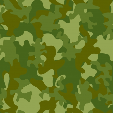 Vector illustration of camouflage seamless pattern Vector