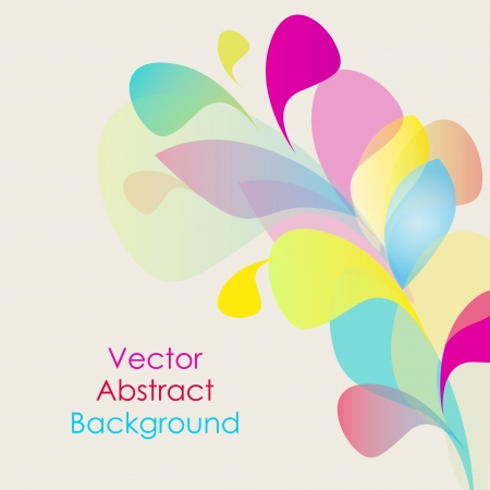 saturated color: Abstract vector background for your projects