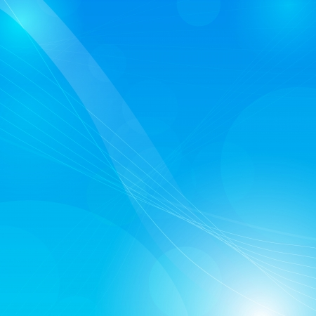 Blue abstract background with space for your text  Vector illustration Stock Vector - 19420017