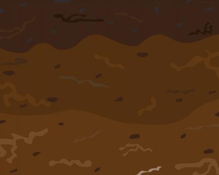 A soil horizons  Underground