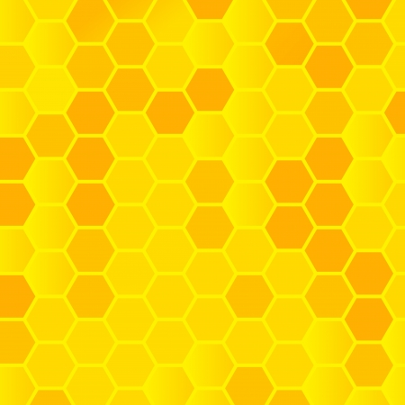 honeycomb background illustration Stock Vector - 19938785