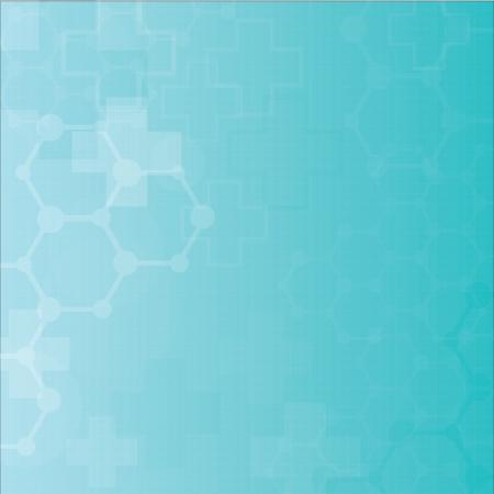 Abstract molecules medical background  Vector Stock Vector - 21937930