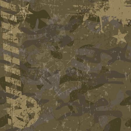 undercover: Sfondo militare con copia spazio e stella