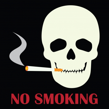 No smoking sign illustration Vector