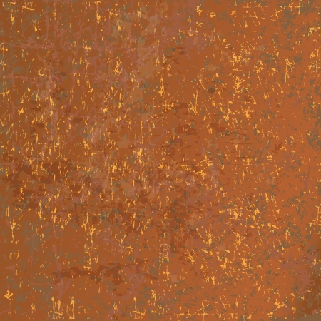 rusted: Rusted metal background (vector illustration)