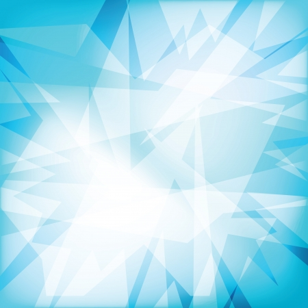Abstract crystal background (vector illustration)