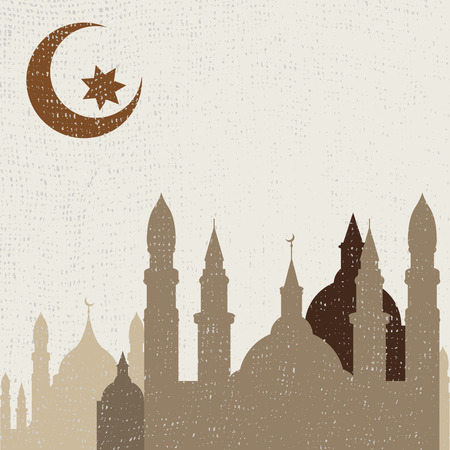 Abstract background for Ramadan Kareem, illustration