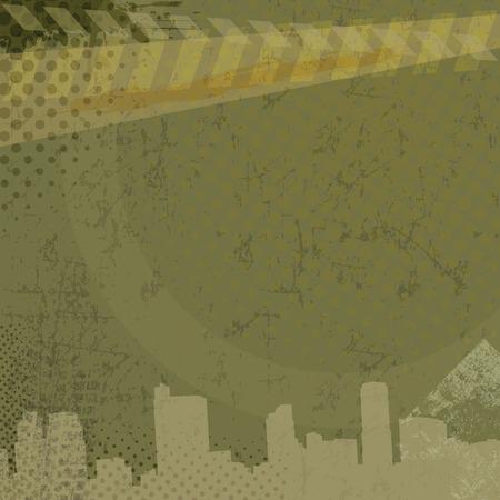 urban grunge: Urban grunge background, vector illustration