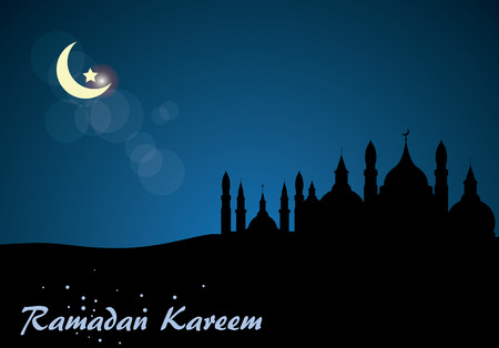 Abstract background for Ramadan Kareem, vector illustration
