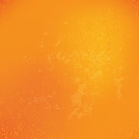 naranja: Halloween grunge fondo naranja, ilustración vectorial