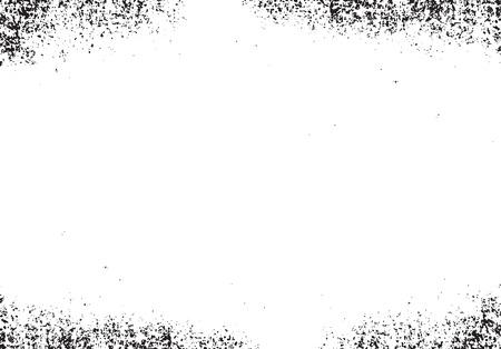 edge design: Grunge white and black texture illustration.