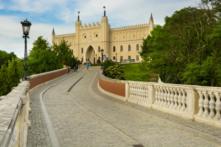 LUBLIN, POLAND - JUNE 02, 2016. The medieval royal castle in city center, Lublin, Poland on June 02, 2016 Publikacyjne