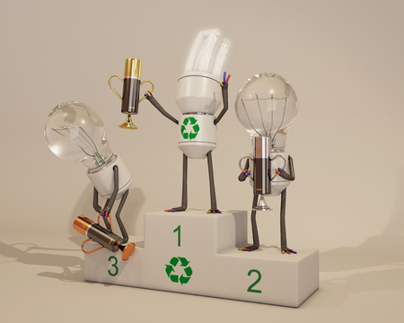 bombillo ahorrador: Energy saving light bulb wins energetic competition
