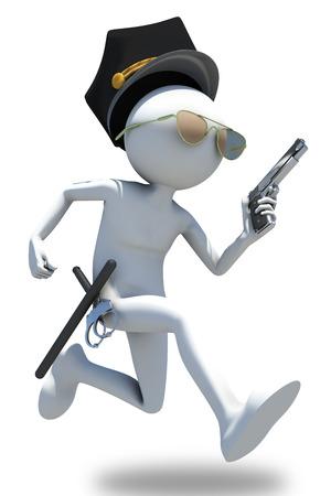 patrolman: Running cop