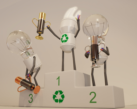 energetic: Energy saving light bulb wins energetic competition