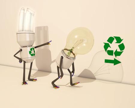 tungsten: Light bulb evolution