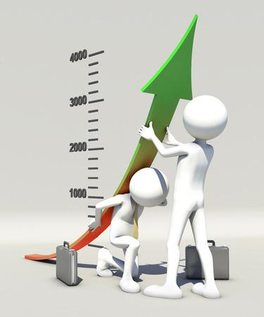 financing: Financing adjustment Stock Photo