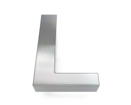 3d brushed metal