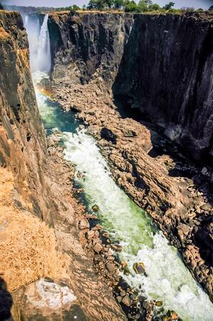 zimbabwe: Paisaje en las Cataratas Victoria
