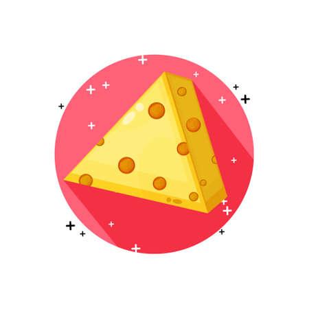Cheese icon vector design