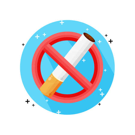 No smoking icon vector design Stock fotó - 157017608