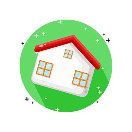 House icon vector design Illusztráció