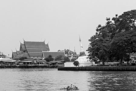 nontaburi: Koh Kred Bangkok Thailand Stock Photo