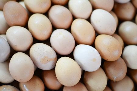 local: Eggs in local market Stock Photo