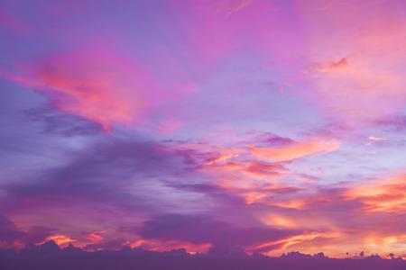 pink sunset: Sweet pink sunset Stock Photo