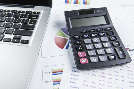 budget crisis: finance business calculation