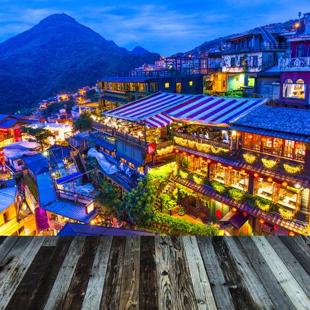 salons de thé de Hillside de Juifen, Taiwan