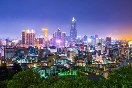 vue de la ville à Taiwan - Kaohsiung Banque d'images