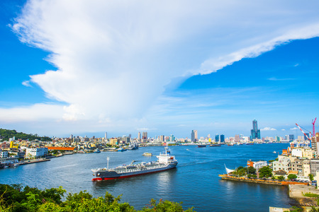 vue de la ville de Kaohsiung - Taiwan