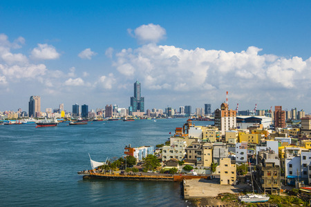 Deuxième plus grande ville de Taïwan - Kaohsiung Banque d'images - 32744042