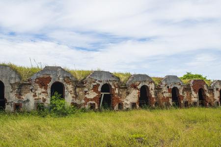 woodfired: Waste burning kilns Stock Photo