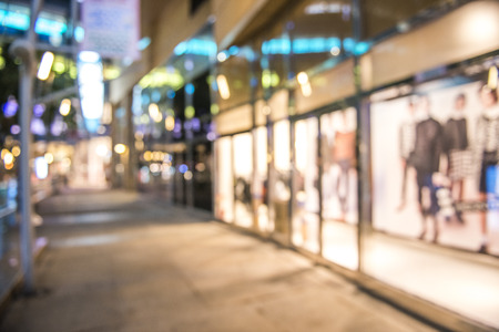 Abstracte achtergrond van winkelcentrum, ondiepe scherptediepte.