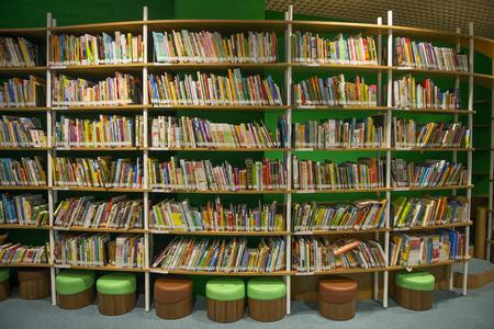 KAOHSIUNG - TAIWAN 13 november 2014: De nieuwe bibliotheek geopend in Kaohsiung