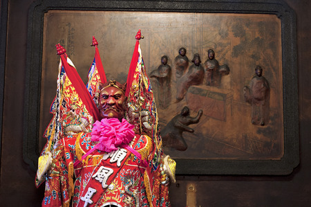 generals: Taiwans religious practices Stock Photo