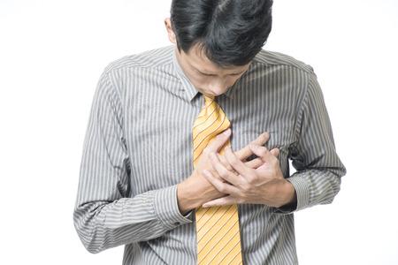 dolor de pecho: Empresario fuerte ataque al corazón