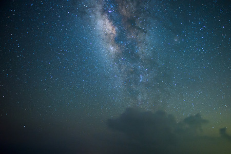 Incroyable Star Night - scène de nuit voie lactée fond dans la galaxie