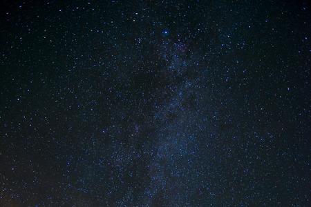 Star Night - nachtscène melkweg achtergrond in de melkweg Stockfoto