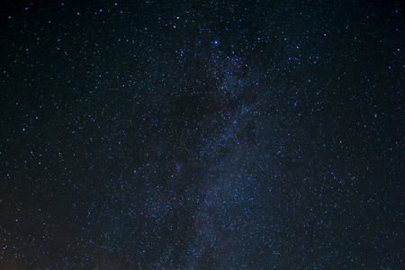 Star Night - scène de nuit Voie Lactée fond dans la galaxie Banque d'images - 42820321