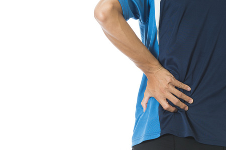 soreness: Man muscle soreness occupational
