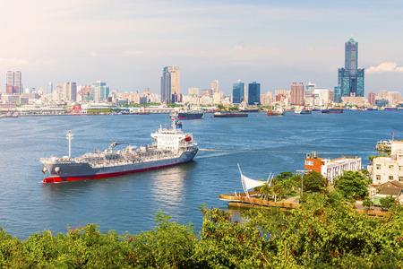 uitzicht over de stad in Taiwan - Kaohsiung