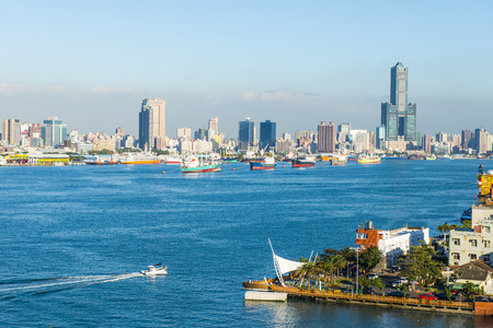 vue sur la ville à Taiwan - Kaohsiung